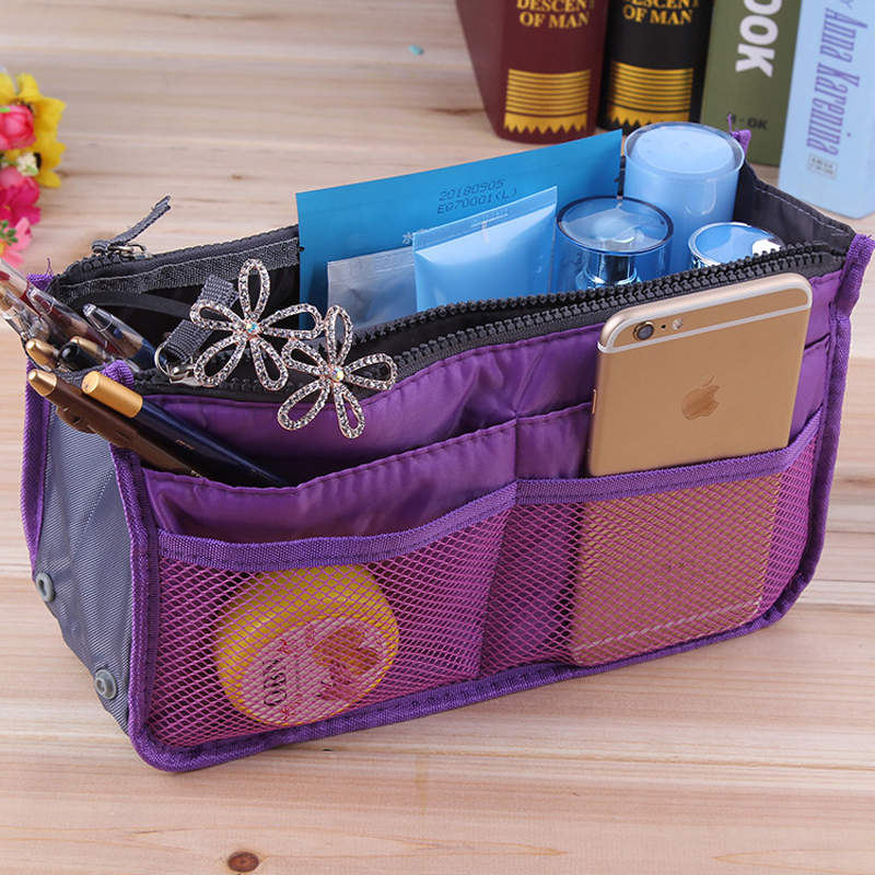 Multifunction Makeup Organizer Bag Women Travel Cosmetic Bags For Make Up Bag Nylon Toiletry Kits Makeup Bags Cases Cosmetics