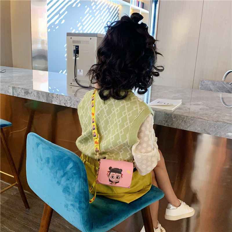 Children's Bags 2019 Autumn And Winter New Style Cartoon Mini Square Sling Bag Baby Shoulder Bag Men And Women Children Accessor