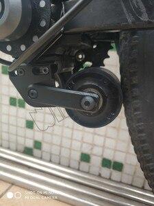 Image 5 - 500W Booster bez akumulatora zmodyfikowany zestaw motoroweru napęd cierny rower elektryczny 500W bezszczotkowy szybki silnik