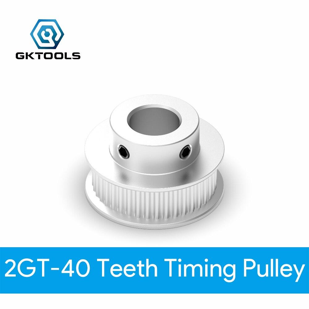 ancho de 6 mm Paquete de 5 GT2 Polea de correa dentada Engranaje s/íncrono Rueda de aluminio para impresora 3D 16 dientes di/ámetro interior de 3 mm
