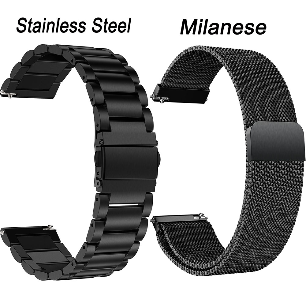 For Huawei Watch GT2 GT 2 Stainless Steel Strap Metal Replacement Milanese Loop Magnetic Bracelet 22mm Watch Band Wrist ремешок