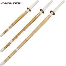 Wooden Sword Bamboo-Knife Martial Training Kendo Catazer Wushu Kung-Fu Japanese-Style
