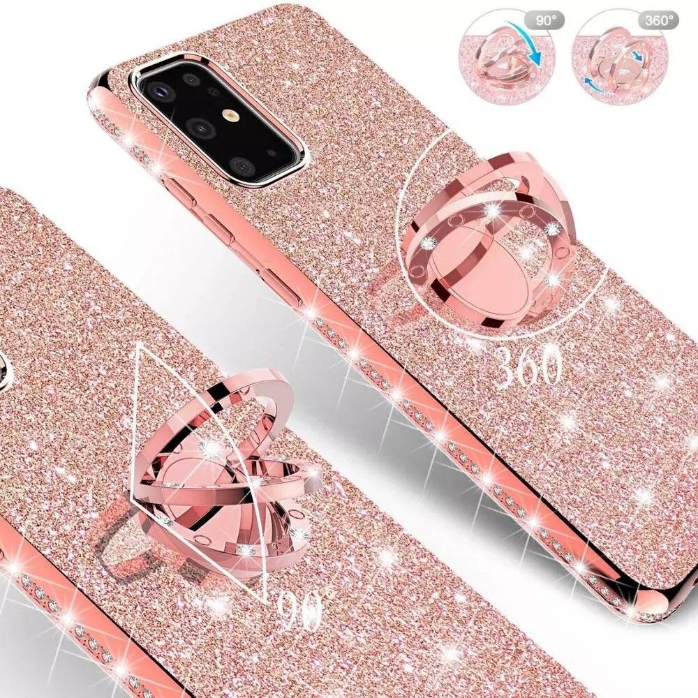 Diamond с сияющими блестками чехол для телефона Xiaomi Redmi 9 9A 9C 8 8A 7 7A 6 6A Mi 10T Pro Note 9S 9Pro 8T A2 A3 Poco X3 NFC крышка