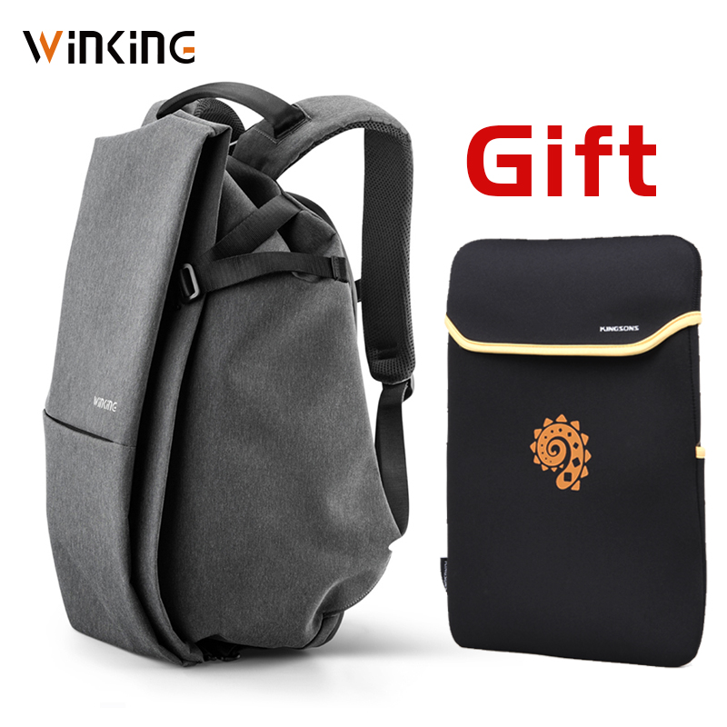 WK 2019 Newest Style Fashion Multifunction Men Travelling USB Charging Backpack For Teenager And Male Waterproof Anti-theft Bag