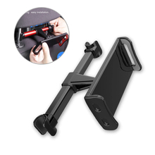 Car Rear Pillow Phone Holder Tablet Car Stand Seat Rear Headrest Mounting Bracket For IPhone X 8 IPad Mini Tablet 4-11 Inch 5 2pcs 11 8 inch car rear seat entertainment video monitors for range rover 2017 headrest monitor android 7 1 system