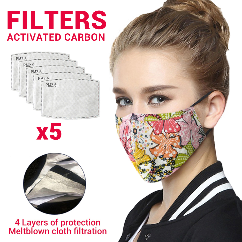 Cotton Motorcycle Masks Face Mask Mouth Caps Face Shield Balaclava Eltblown Cloth Dust Mask Moto Mouth Filter Protective Mask