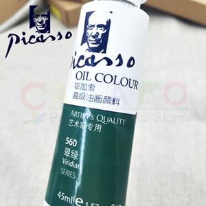 Image 3 - 170ml Picasso profesyonel yağlı boya 24 renk ana özel akrilik boya aleti boya pigmenti sanat malzemeleri sanatçı öğrenci