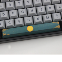 87 PBT Keycaps Dye Sub Cherry And Oem Profile Spacebar 6.25U For Mechanical Keyboard 104 87 60 Cherry Blossom Chinese Style Pattern (5)