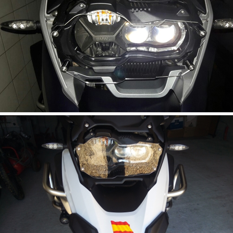 For BMW R1200GS R 1200 GS Grille R1250GS LC 2018 2019 Adventure Accessories Motorcycle Parts Headlight Guard Protection Cover(China)