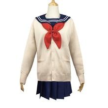цена на Cossky Toga Himiko Cosplay Costume School Uniform Women Sailor Jk Uniform Hero Academia Costume