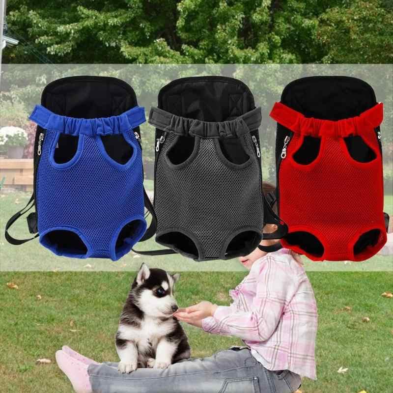 PET Dog Cat Carrier กระเป๋าเป้สะพายหลัง Camouflage นุ่มไหล่กระเป๋าการท่องเที่ยวกลางแจ้งตาข่าย Breathable ด้านหน้าผู้ถือกระเป๋า