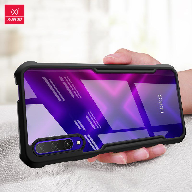 XUNDD Shockproof Case For Huawei Honor Y9S 9X Pro Case Transparent Airbag Bumper Protective Cover Soft Back Fitted Phone Shell