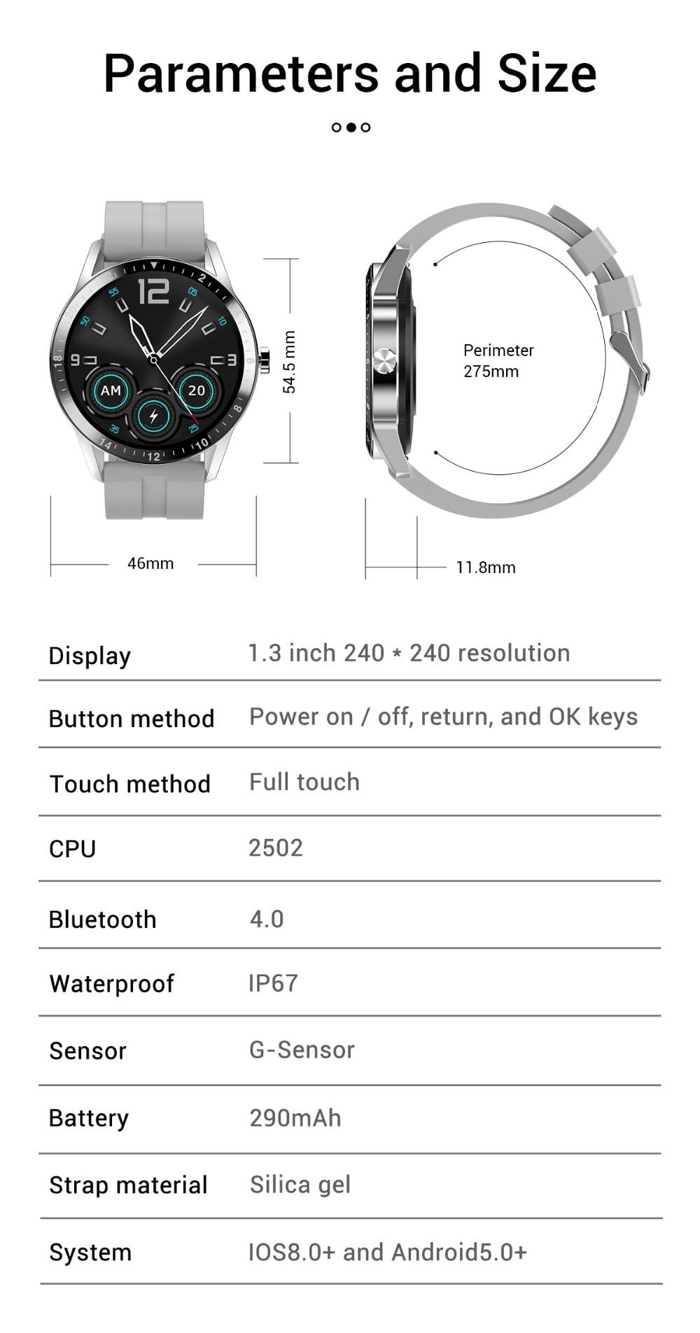 pulseira de silicone relógios horas para xiaomi ios android