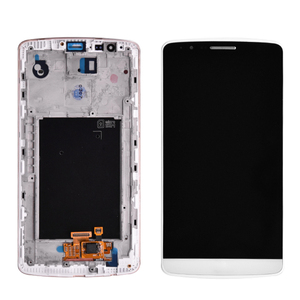 Original For LG G3 LCD D850 D851 D855 LCD Display With Touch Screen Digitizer Assembly With Frame free shipping