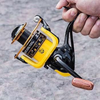 New 12BB 12 Ball 1000-7000 Bearings Fishing Reels Super Big Sea Fishing Wheel High Speed 5.2:1 Metal Spinning Reel Fish Tool