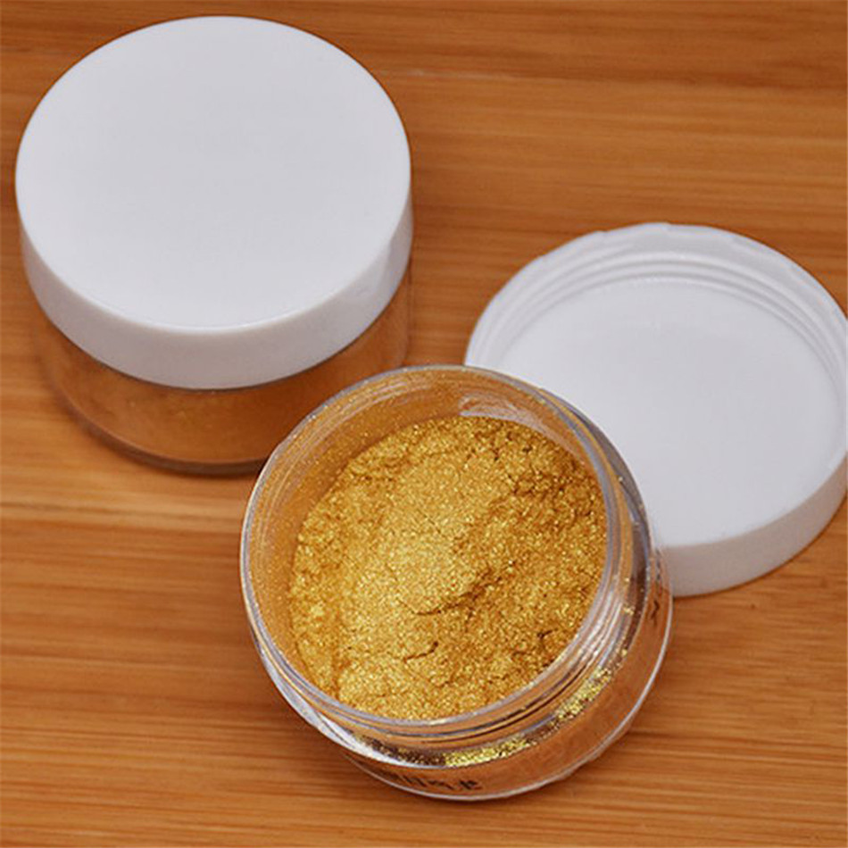 TTLIFE 5g Edible Flash Glitter Golden Silver Powder For Decorating Food Cake Biscuit Baking Supply Birthday Cake Decor Tools