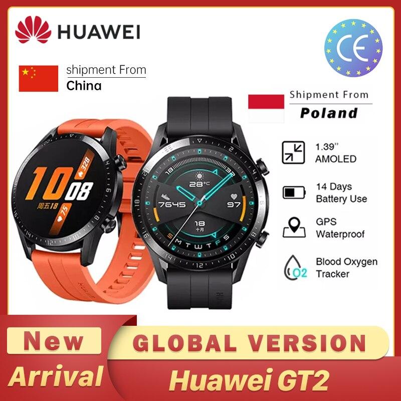 Смарт-часы Huawei GT2 GT2E, 55 мм, GPS, Bluetooth