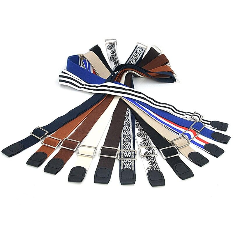 Easy Shirt Stay Adjustable Belt Non-slip Wrinkle-Proof Shirt Holder Straps Locking Belt Holder Near Shirt-Stay