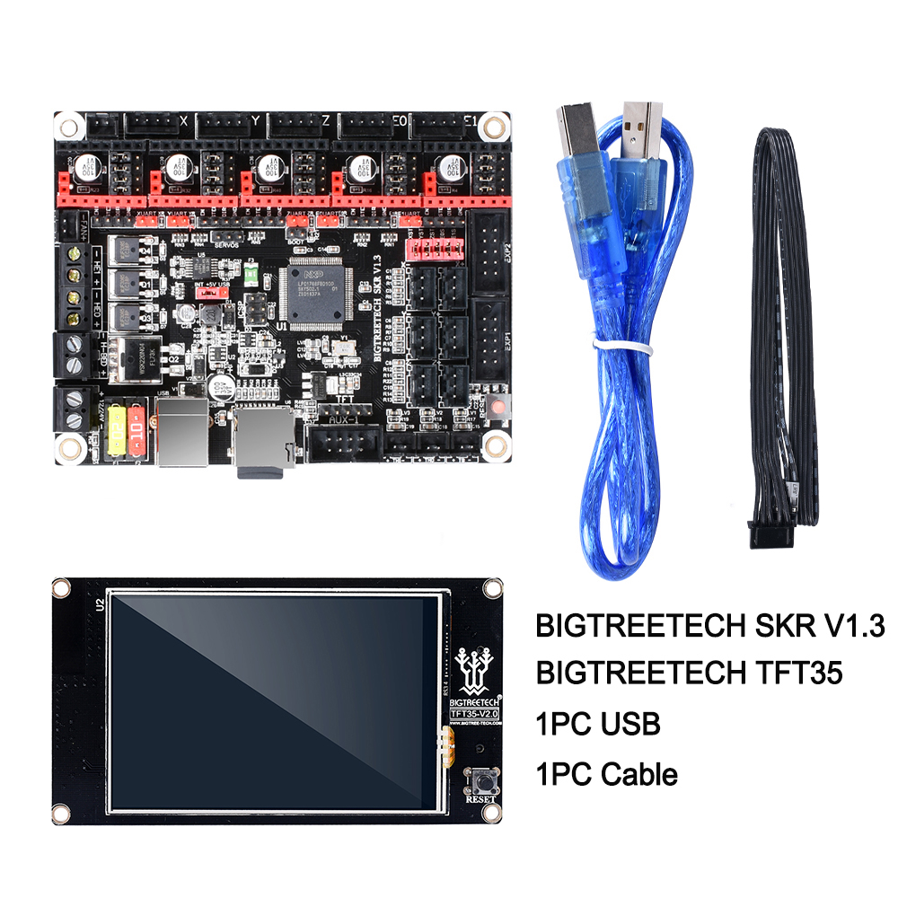 BIGTREETECH SKR V1.3 carte lisse 32Bit + TFT35 V2.0 écran tactile + BLtouch + TMC2130 spi TMC2208 UART pièces d'imprimante 3D vs MKS GEN L - 2