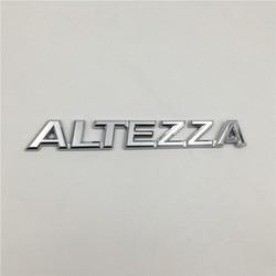 Für Toyota Altezza Emblem Hinten Boot Stamm Logo Abzeichen Chrom Buchstaben Aufkleber