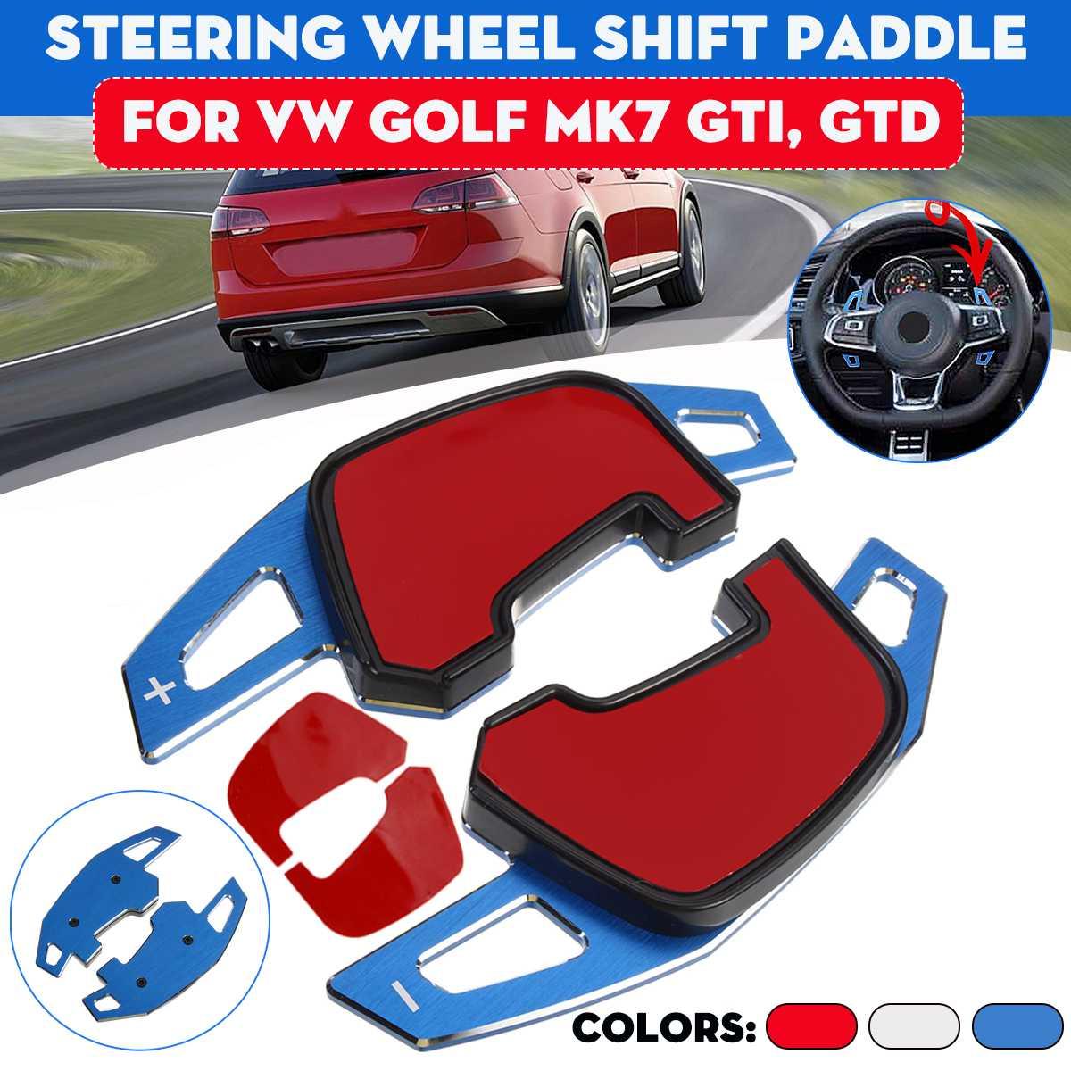 Автомобильные поворотные лопасти для рулевого колеса DSG расширительные весла для VW Golf7 GTI GTE GTD MK7