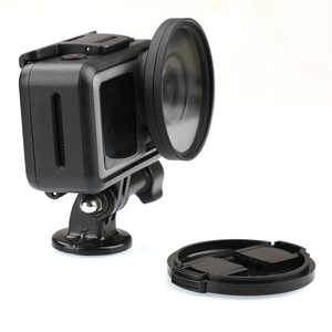 Image 5 - Anneau adaptateur dobjectif en alliage daluminium 52mm filtre UV/CPL Kit de bague dentraînement capuchon dobjectif pour accessoires de connecteur de caméra daction DJI OSMO
