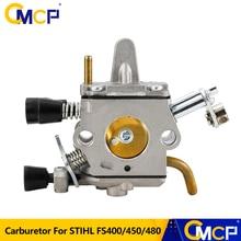 CMCP Fuel Oil Carburetor Carb Fit For STIHL FS400 FS450 FS480 SP400 450 Brush Cutter Carburetor Zama C1Q-S34H Lawn Mower Parts
