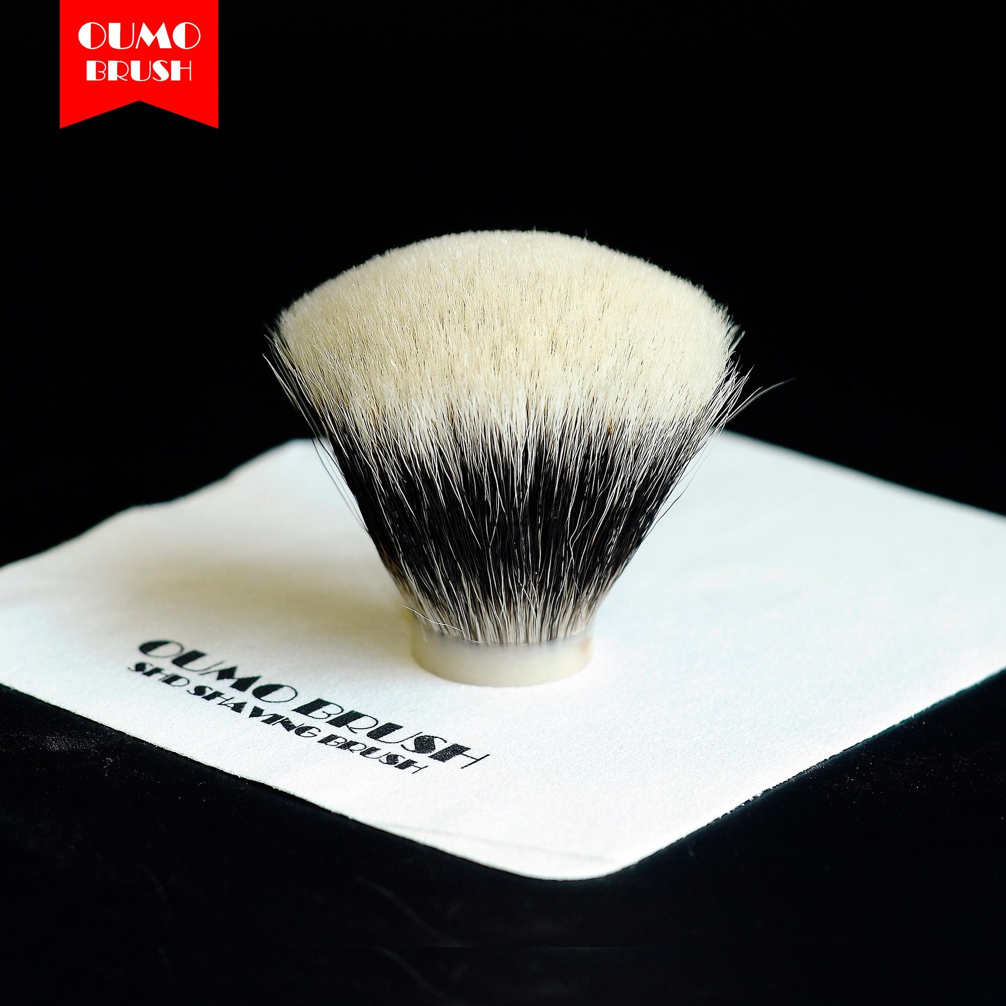 Oumo Brush-Fan Shd Handmaster Finest Badger Nodo Di Capelli Pennello Da Barba Nodi Gel Punta.
