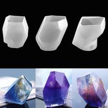 Moule en Silicone cristal en forme de pierre, en résine époxy, bricolage l'artisanat, fabrication de bijoux, accessoires