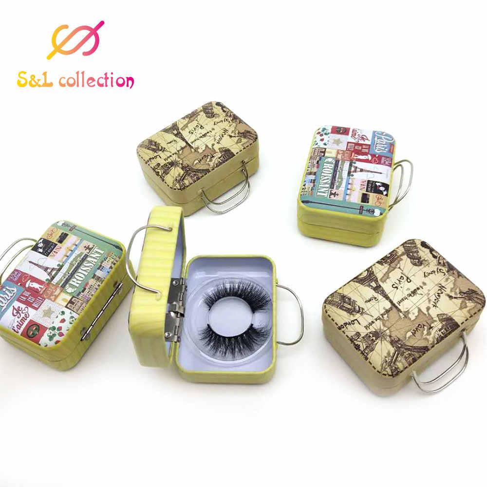 10pcs all'ingrosso ciglia finte scatola di imballaggio logo personalizzato lolly Pop lash stick container diamante magnetica lollipop caso vuoto