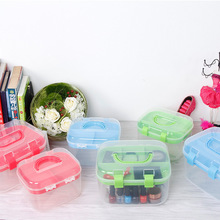 Compartment Storage Box Jewelry Earring Bead Screw Holder Case Display Cosmetic Organizer Container Medicine Chest Sewing Kit