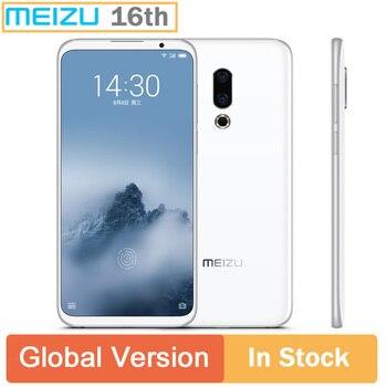 Global Version Meizu 16th 16 6.0 inch FHD Full Screen Dual rear Camera 3060mAh battery Snapdragon 845 Octa Core 20mp camera GPS