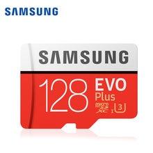 Samsung – carte mémoire Micro SD 100% originale, 128 go 512 go 256 go 32 go 64 go, SDHC SDXC Grade EVO + C10 4KHD UHS TF