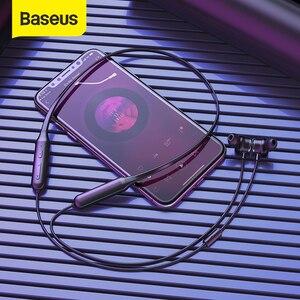 Image 1 - Baseus S15 aktif gürültü Bluetooth kulaklık iptal kablosuz spor kulaklık ANC kulaklık telefonları için Mic ile ve müzik