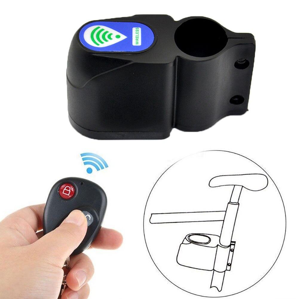 Новый велосипедный замок с сигнализацией для велосипеда, Противоугонная сигнализация для езды на мотоцикле, звуковая сигнализация, громки...