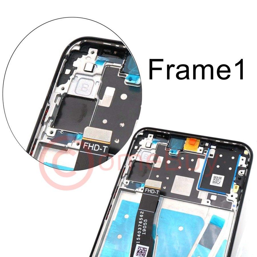 Image 3 - Original For Huawei P30 Lite LCD Display Touch Screen With Frame  P30 Lite Display For Huawei Nova 4e LCD Screen MAR LX1M MAR LX2Mobile  Phone LCD Screens