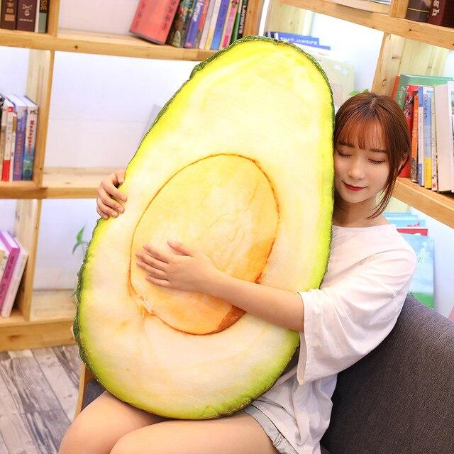 Avocado Plush Pillow