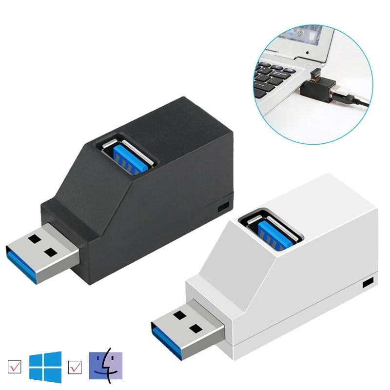 USB 3.0 /2.0 HUB Adapter Extender Mini Splitter 3 Ports High Speed U Disk Reader for PC Laptop Macbook Mobile Phone Accessories