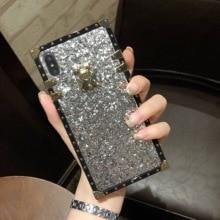 Shell stylish luxury flash phone case for OPPO R9 R9S R11 R15 R17 shockproof for OPPA R9 R9S R11 Plus R17 Pro A73 A75 A83 FUNDA цена и фото