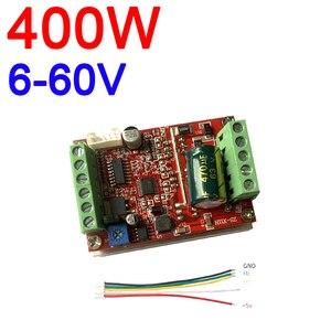 Image 1 - 6 72v 400w bldc 3 fase dc brushless controlador do motor pwm hall driver de controle do motor placa 12v 24v 48v 72v para a frente reverso