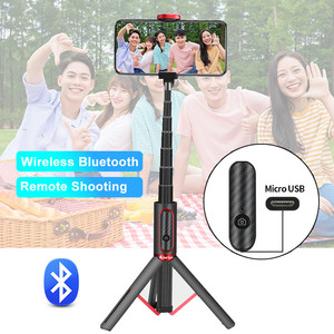 Image 4 - Ulanzi SK 01 3 in 1 Wireless Bluetooth Selfie Stick Foldable Tripod Expandable Monopod with Remote Control for iPhone Android