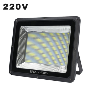 LED Schijnwerper 220V Project light Lamp 10W 30W 50W 200W 300W 400W outdoor Flood Licht Waterdicht IP65 IP66 Zoeklicht Spotlight-in Schijnwerpers van Licht & verlichting op