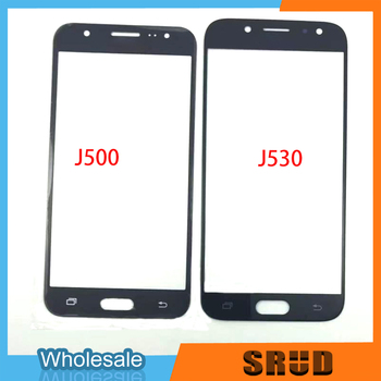 10Pcs Black/White/Gold LCD Touch Screen Outer Glass With OCA Laminated For Samsung Galaxy J5 2015 2016 2017 J500 J510 J530 J530F image