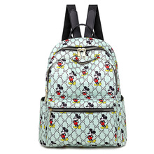 Backpack female 2020 new wave Korean version printing ladies fashion personality wild small backpack travel student school bag backpack backpack female 2020 new fashion small backpack korean fashion sequined women bag student bag travel