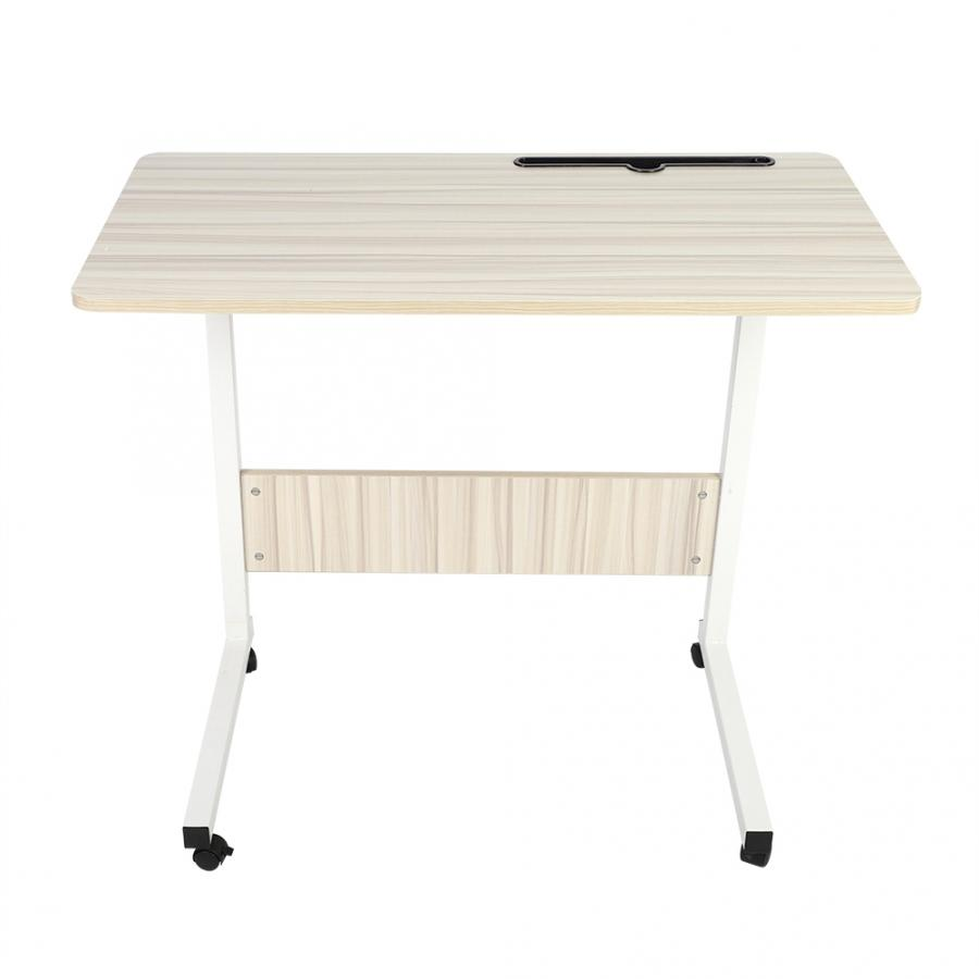 Adjustable Bed Side Laptop Study Desk Removable Mobile Phone Table