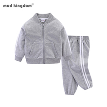 Mudkingdom Boys Outfits Baby Boy Clothes For Kids Long Sleeve Casual Sports Suit Suit