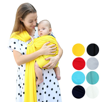 Baby Carrier Sling For Newborns Soft Infant Wrap Breathable Wrap Hipseat Breastfeed Birth Comfortable Nursing Cover Activity & Gear