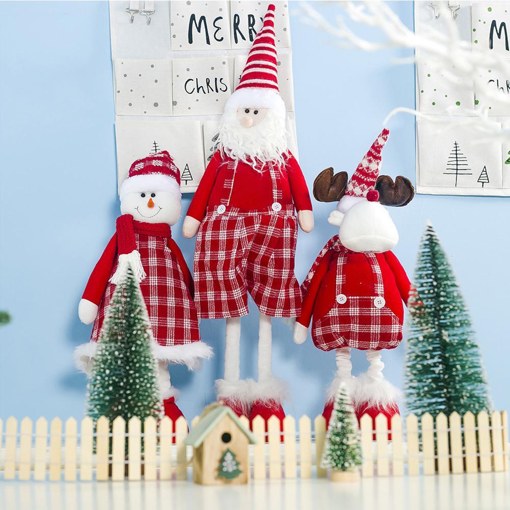 Weihnachten Weihnachtsmann Glocke Pl/üsch Puppe Spielzeug Kinder Pl/üsch Puppen Kinder Geschenke Startseite Ornamente