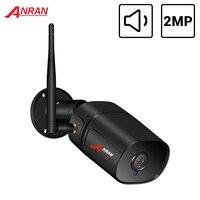 Telecamera IP ANRAN 1080P Wifi HD telecamera di sicurezza per visione notturna a infrarossi per esterni telecamera di videosorveglianza Wireless Audio bidirezionale