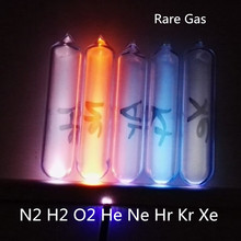 Glass Seal Rare Gas Hydrogen H Helium He Neon Argon Ar Xenon Krypton  99.999% high purity luminescent Gas Element Collection rare earths element collection complete 16 in all europium lutetium
